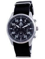 Orient Sports Flight Style Chronograph Black Dial Quartz RA-KV0502B10B Men's Watch