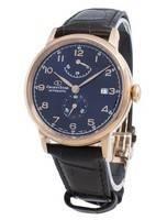 Relógio masculino Orient Star RE-AW0005L00B de reserva automática de energia