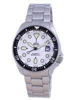 Ratio FreeDiver White Dial Sapphire Crystal Stainless Steel Automatic RTB209 200M Men's Watch