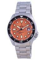 Ratio FreeDiver Orange Dial Sapphire Crystal Stainless Steel Automatic RTB214 200M Men's Watch