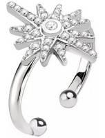 Anel feminino de prata esterlina Morellato Pura SAHR04