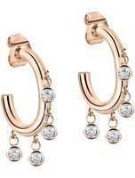 Morellato Cerchi rosa tom ouro em aço inoxidável SAKM54 brinco feminino
