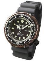 Seiko Marine Master SBBN042 titânio Limited Edition Japão feita relógio 1000M masculino