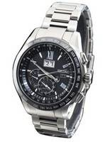Seiko Astron SBXB137 GPS Solar Big-Date Perpetual Calendar Dual Time Men's Watch