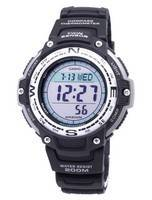 Casio Illuminator SGW-100-1V SGW100-1V Twin Sensor Digital Quartz 200M Men's Watch