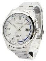 Seiko Kinetic Silver Dial 100M SKA717 SKA717P1 SKA717P Men's Watch