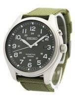 Seiko Kinetic Military Green Dial 100M SKA725 SKA725P1 SKA725P Men's Watch