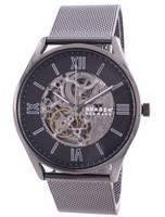 Skagen Holst Skelton Grey Dial Automatic SKW6614 Men's Watch