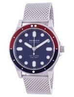 Skagen Fisk Blue Dial Stainless Steel Quartz SKW6668 100M Men's Watch