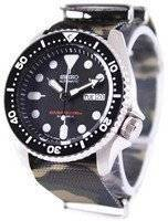 Seiko Automatic Diver's 200M Army NATO Strap SKX007J1-NATO5 Men's Watch