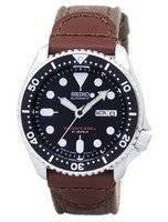 Alça de lona do mergulhador automático Seiko SKX007J1-NS1 200M Men Watch