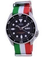 Seiko Automatic Diver's Japan Made Polyester SKX007J1-var-NATO23 200M Men's Watch