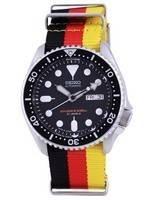 Seiko Automatic Diver's Japan Made Polyester SKX007J1-var-NATO26 200M Men's Watch
