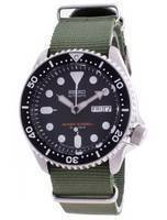 Seiko Automatic Diver's SKX007J1-var-NATO9 200M Japan Made Men's Watch