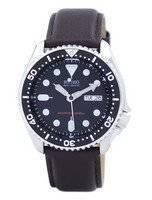 Seiko Automatic Diver's 200M Ratio Dark Brown Leather SKX007K1-LS11 Men's Watch