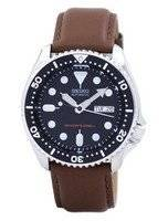 Seiko Automatic Diver's 200M Ratio Brown Leather SKX007K1-LS12 Men's Watch