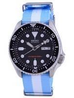 Seiko Automatic Diver's Polyester SKX007K1-var-NATO24 200M Men's Watch