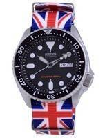 Seiko Automatic Diver's Polyester SKX007K1-var-NATO28 200M Men's Watch