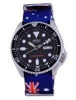 Seiko Automatic Diver's Polyester SKX007K1-var-NATO30 200M Men's Watch