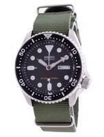 Relógio masculino SKX007K1-var-NATO9 200M da Seiko Descubra mais mergulhador automático