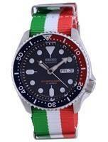 Seiko Automatic Diver's Polyester Japan Made SKX009J1-var-NATO23 200M Men's Watch