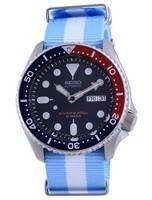 Seiko Automatic Diver's Polyester Japan Made SKX009J1-var-NATO24 200M Men's Watch