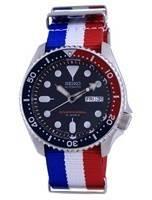 Seiko Automatic Diver's Polyester Japan Made SKX009J1-var-NATO25 200M Men's Watch
