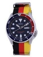 Seiko Automatic Diver's Polyester Japan Made SKX009J1-var-NATO26 200M Men's Watch