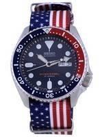 Seiko Automatic Diver's Polyester Japan Made SKX009J1-var-NATO27 200M Men's Watch