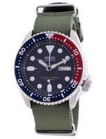 Seiko Automatic Diver's SKX009J1-var-NATO9 200M Japan Made Men's Watch