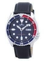 Seiko Automatic Diver's 200M Ratio Black Leather SKX009K1-var-LS10 Men's Watch