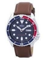 Seiko Automatic Diver's 200M Ratio Brown Leather SKX009K1-var-LS12 Men's Watch