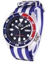 O relógio dos homens da correia NATO 200M NATO do mergulhador de Seiko SKX009K1-NATO2