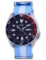 Seiko Automatic Diver's Polyester SKX009K1-var-NATO24 200M Men's Watch