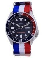Seiko Automatic Diver's Polyester SKX009K1-var-NATO25 200M Men's Watch