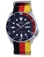 Seiko Automatic Diver's Polyester SKX009K1-var-NATO26 200M Men's Watch