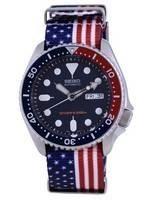 Seiko Automatic Diver's Polyester SKX009K1-var-NATO27 200M Men's Watch
