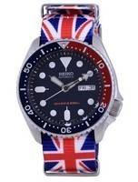 Seiko Automatic Diver's Polyester SKX009K1-var-NATO28 200M Men's Watch