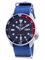 Seiko Automatic Diver's Deep Blue SKX009K1-var-NATO8 200M Men's Watch