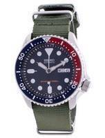 Seiko Automatic Diver's Deep Blue SKX009K1-var-NATO9 200M Men's Watch