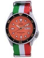 Seiko Automatic Diver's Japan Made Polyester SKX011J1-var-NATO23 200M Men's Watch