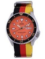 Seiko Automatic Diver's Japan Made Polyester SKX011J1-var-NATO26 200M Men's Watch