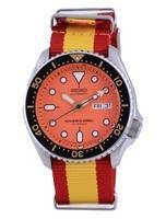 Seiko Automatic Diver's Japan Made Polyester SKX011J1-var-NATO29 200M Men's Watch