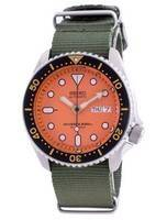 Seiko Automatic Diver's SKX011J1-var-NATO9 200M Japan Made Men's Watch