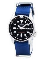 Relógio 200m da OTAN correia SKX013K1-NATO6 masculino do mergulhador Seiko automático