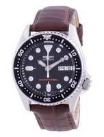 Seiko Automatic Diver's Black Dial SKX013K1-var-MS11 200M Men's Watch