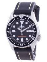 Seiko Automatic Diver's Black Dial SKX013K1-var-MS9 200M Men's Watch