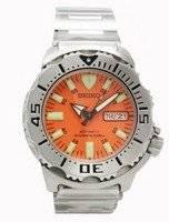 Seiko Divers Automatic Orange Monster SKX781K SKX781 200m Men's Watch