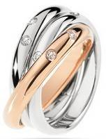 Morellato Love Rings Stainless Steel SNA31014 Women's Ring