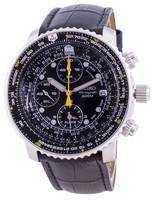 Seiko Pilot's Flight SNA411P1-VAR-LS6 Quartz Chronograph 200M Men's Watch